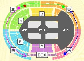 2008年NewSコン横アリ座席表