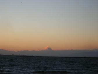 木更津の夕日