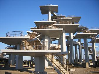 富津岬の展望台