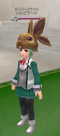うさぎ帽子