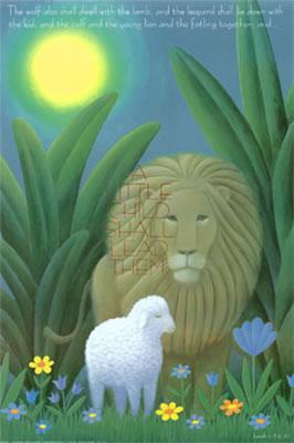 獅子と子羊