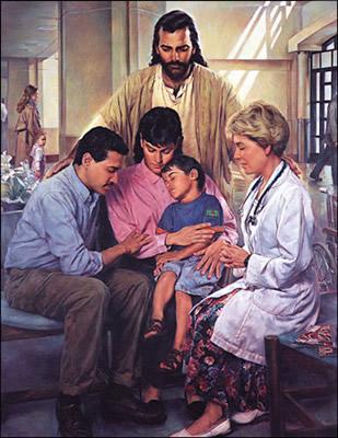 癒しの祈り