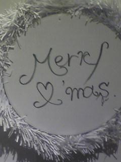 仁 クリスマスカード