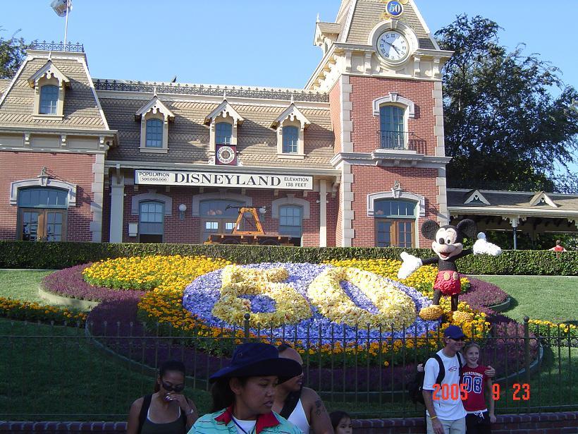 50周年花壇