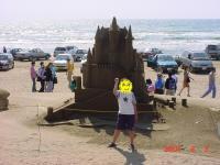 砂像コンテスト