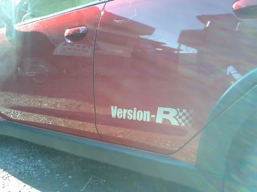 Version-Rって名前ですから。