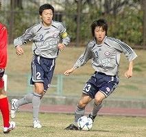 インカレ仙台戦武井と鎌田