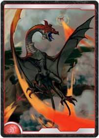 火炎竜巻の翼竜