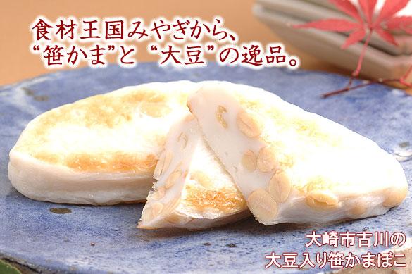 """大豆入り""""笹かまぼこ"""""""