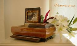 ペットのお墓・仏壇・形見収納の全てを兼ね備えたメモリーボックス メモリアアレカ 『カーロ』