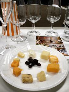 fromage et vin