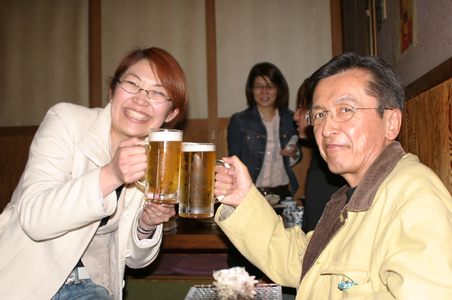 AZAZU3月例会後の懇親会-2