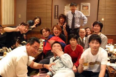 AZAZU3月例会後の懇親会-5