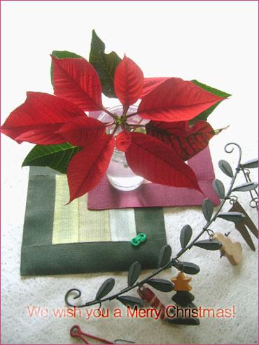 ポジャギキット『クリスマスコースター』アップしました♪福jyumoniにもお立ち寄りください(^o^)
