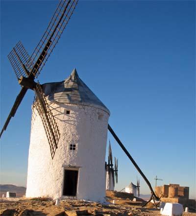 コンスエグラの風車の丘