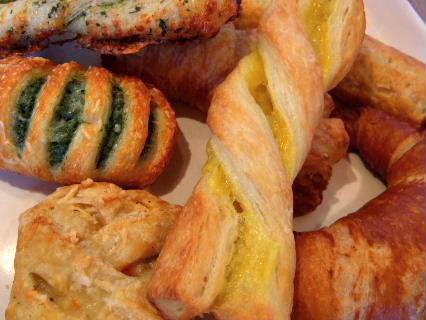 森のパン屋さんパン盛り