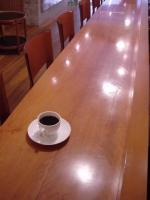 コーヒーとカウンター