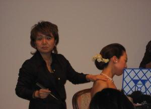 イベントヘアメイク講座2