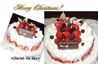 クリスマスケーキ☆2007