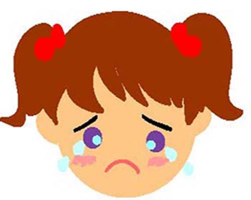 さおりちゃん泣