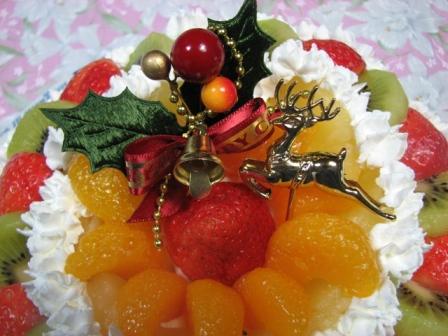 さっき作ったケーキ