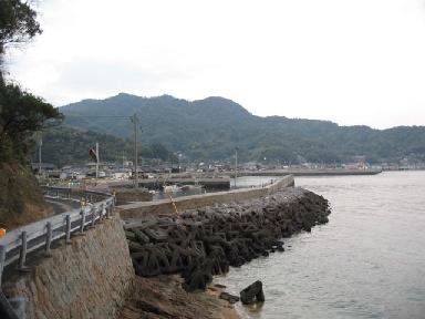 伊保田漁港波止