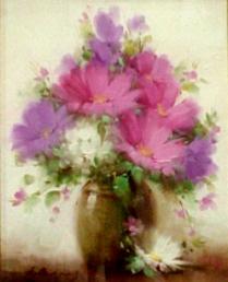 花の額pink