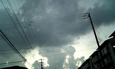 妖しい雲行き