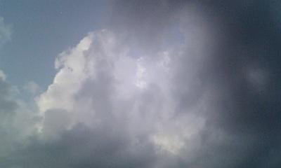 妖しい雲行き2