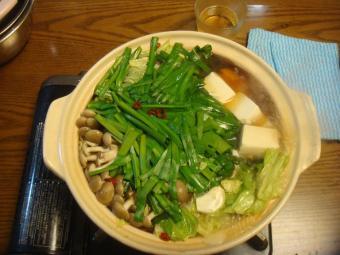 トニオ風モツ鍋