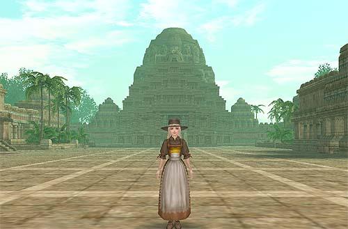 インド寺院全景