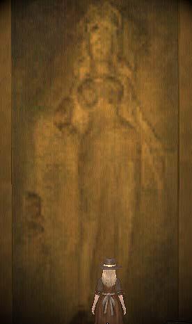 インド寺院奥の絵(左)