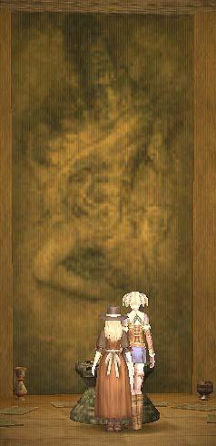 インド寺院奥の絵(奥)