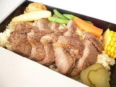 神戸牛のステーキ弁当
