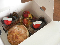 霧笛楼のケーキたち