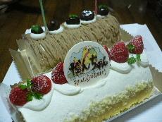 四角いケーキ