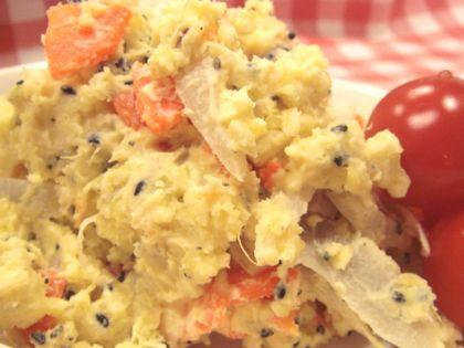 根菜のおさつポテトサラダ