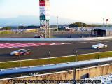 レース中の写真
