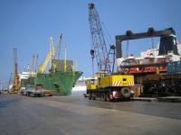 アレキサンドリアの港