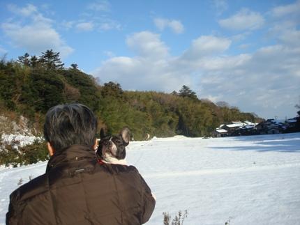 初雪体験5