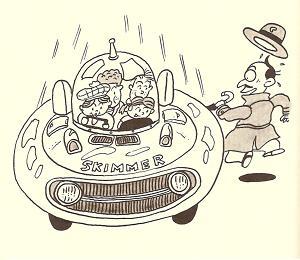 「空とぶ自動車スキマー作戦」その1