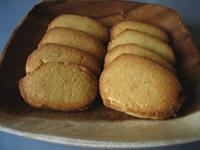 コーンミール&チーズクッキー