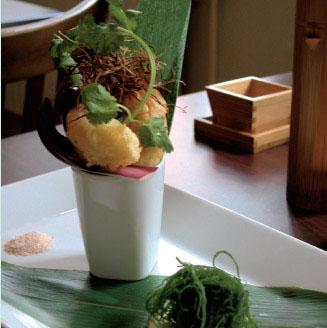 レストランNagayaの料理