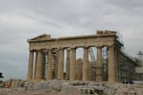 パルテノン神殿~後ろ側から
