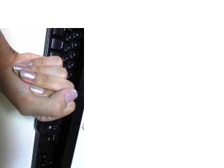 まれちゃんの手