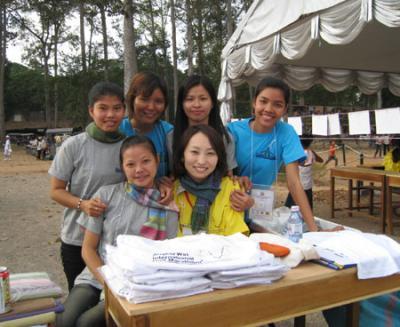 カンボジアの女の子たち