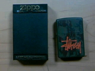 Stussy Zippo 2-1
