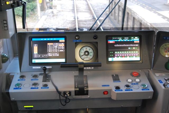 6016F運転台