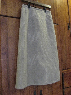 リネンのスカート
