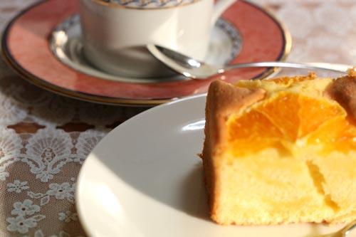 オレンジケーキ♪3